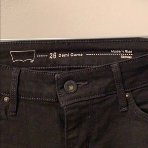 Levi's Modern rise skinny- denim curve 26